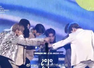 """[NCT][新闻]190824 NCT127斩获""""2019 SOBA""""颁奖礼""""本赏""""和""""Social Artist""""两项大奖!"""