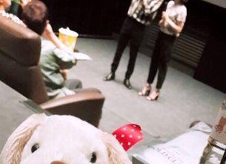 [分享]190828 徐贤前往电影院观看《一条狗的使命2》 为henry新电影应援