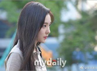 [Red Velvet][分享]190830 韩网热议:今天音乐银行上班路上的RedVelvet Irene侧脸