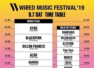 "[BLACKPINK][新闻]190831 霓虹粉墨出动 BLACKPINK将出演""WIRED MUSIC FESTIVAL'19"""