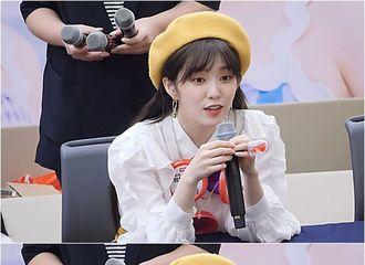 [Red Velvet][分享]190902 真的是天仙下凡!神仙姐姐裴珠泫签售会上的可爱举动~