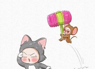 "[GOT7][分享]190903 真实版""猫和老鼠""大战上演!Tom蹦你快别东张西望啦~"