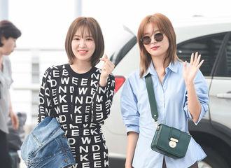 [Red Velvet][新闻]190909 RedVelvet涩琪-Wendy今日出国,前往纽约拍摄画报