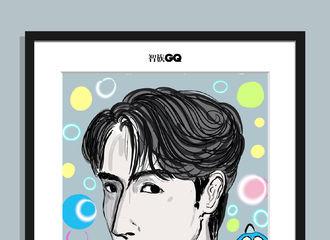 [新闻]190911 智族GQ更新朱一龙插画 灵魂画手笔下的彩色泡泡龙艺术感中带着可爱