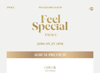 [新闻]190920 TWICE迷你8辑《Feel Special》配置公开 共分为三个版本