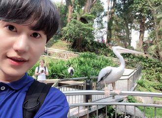 "[Super Junior][分享]190923 ""我们在同一个天空""圭贤通过微博问候中国ELF们"