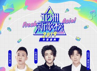 [新闻]191018 蔡徐坤将出席亚洲新歌榜2019年度盛典 10月31日又有舞台看啦!