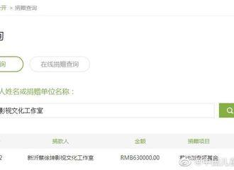 [新闻]191018 不是在做音乐就是在做公益 蔡徐坤葵计划爱心基金首批捐款已到账!