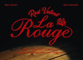 """[Red Velvet][新闻]191022 Red Velvet 11月举办第三次单独演唱会""""La Rouge"""""""