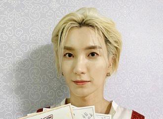 [Super Junior][分享]191023 被爱意包围着的哥哥们…帅气Junior手持粉丝手写信认证