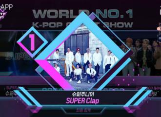 [Super Junior][新闻]191024 Super Junior获本周MCD一位!