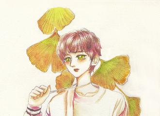 [分享]191114 银杏树下的美少年王源 想给你永恒的爱彼此守候