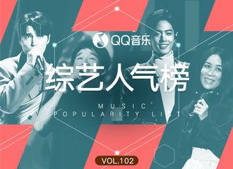 [新闻]191122 QQ音乐综艺人气榜公开 肖战那英《跟着感觉走》横扫四榜冠军!