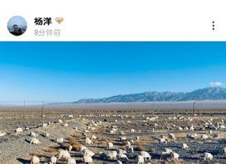 """[杨洋][新闻]191208 杨洋绿洲三连更 分享剧组""""放羊""""日常"""