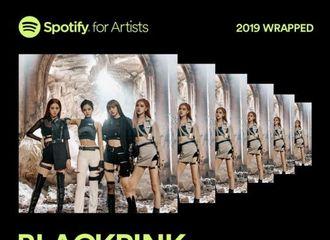 [BLACKPINK][新闻]191210 BLACKPINK获得Spotify11亿次流媒体  创造K-POP女团最高纪录