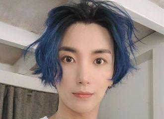 [Super Junior][分享]191211 芳心纵火的蓝色冰雪仙子 特哥的颜值真让人感叹不已