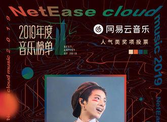[华晨宇][新闻]191211 华晨宇2019年度音乐榜单两个人气类奖项投票连续破百万!