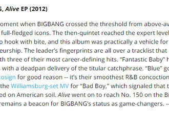 [BigBang][新闻]191218 billboard2010年代最佳K-POP专辑 TOP25丨权志龙个人&BIGBANG 均入围