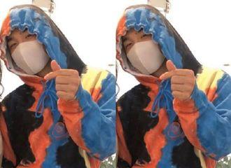 [BigBang][分享]191227 新鲜热辣的太阳哥哥终于出现啦!带着口罩也依然帅气