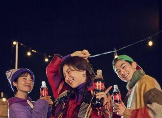 [Red Velvet][新闻]191228 姜涩琪可口可乐品牌新年广告图公开