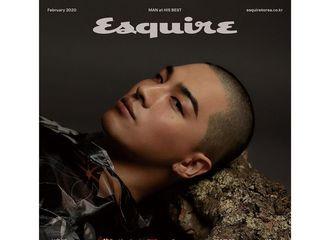 [新闻]200113 BigBang成员太阳将登上杂志《ESQUIRE》2月刊的封面