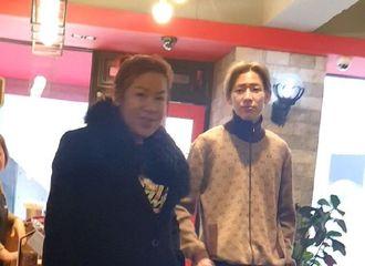 [分享]200119 有爱!网友偶遇BamBam与妈妈一同逛街吃饭