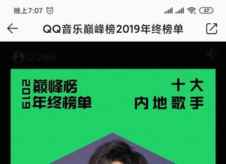 [新闻]200119 王源获2019内地十大歌手 第一张个人专辑收获好评