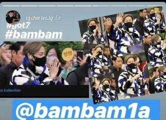 [分享]200123 这带货能力我服!BamBam机场同款外套卖断货了...