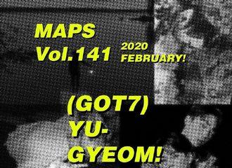 [分享]200124 金有谦登MAPS杂志二月刊封面!共2个版本31日发行