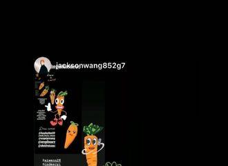[新闻]200322 白敬亭更新ins晒王嘉尔ins截图 小朋友你的萝卜去哪了?