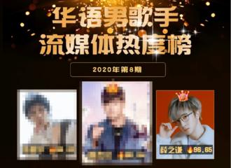 [薛之谦][新闻]200323 20年第8期华语男歌手榜排名公开 薛之谦排行收听重返TOP3