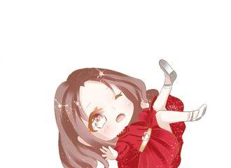 [分享]200324 赵丽颖红裙图绘分享 这是什么绝世大可爱呀!