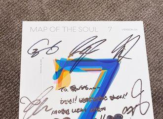 """[新闻]200327 """"特级友情展示""""利特收到来自BTS郑号锡的签名专辑"""