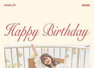 [美文]200327 想陪你走向全世界,LISA公主生日快乐!