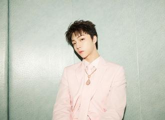[新闻]200528 陈立农全球发片记者会造型公开 粉色西装少年活泼绅士