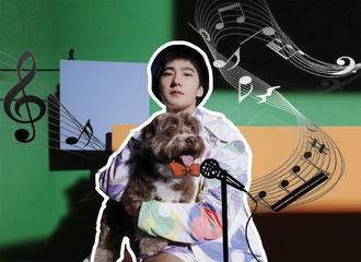 [新闻]200626 杨洋杂志拍摄花絮公开 与狗狗互动频繁真的要柠檬精了!