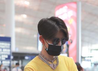 [新闻]200701 小黄人琳琳子离京飞往长沙开工 小鬼的柔顺短毛一撩就可爱乱飞