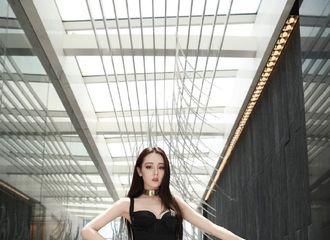 [分享]200805 品牌分享迪丽热巴活动造型 All Black装扮冷艳性感