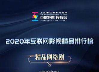[新闻]200806 杨洋《全职高手》荣获2020年互联网影视精品排行榜精品网络剧!