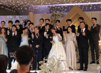 [新闻]200810 童颜夫妇又合体了!杨紫李现客串新剧拍摄婚礼路透曝光