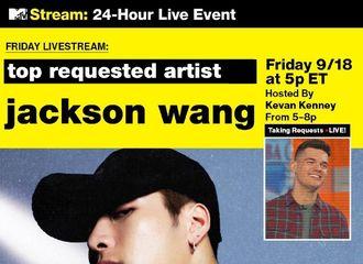 [分享]200920 祝贺王嘉尔登顶MTV点播榜单!谁都无法抵挡嘉尔烟嗓的魅力!