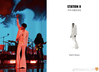 [分享]200920 蔡徐坤好奇夜造型科普 复古摩登的时尚icon