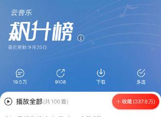 [新闻]200925 薛之谦《天外来物》登网易云音乐飙升榜 飙升指数达133%