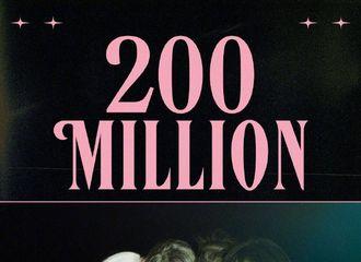[分享]201025 BLACKPINK《Lovesick Girls》MV油管播放量突破2亿!