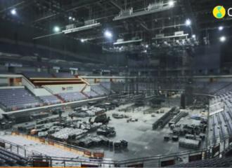 """[新闻]201127 TNT""""按时长大""""周年演唱会倒计时一天 舞台搭建已全面完成!"""