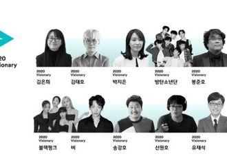 """[新闻]201203 BLACKPINK入选CJ选定""""2020 Visionary""""韩国大众文化界先驱人物"""
