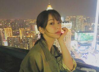 [新闻]201228 没见过的,就是新鲜的杨文静 杨紫赏夜景侧拍图(有)