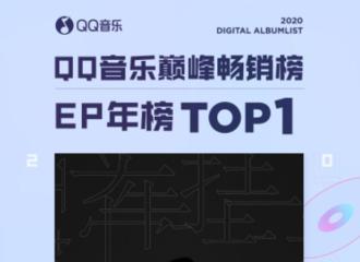 [新闻]210109 张云雷《牵挂》荣登2020年QQ音乐巅峰畅销榜EP年榜TOP1!