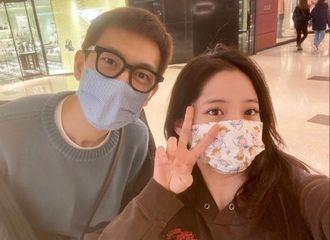 [新闻]210218 李现更新INS晒与欧阳娜娜合照 试问谁不想偶遇李现呢!