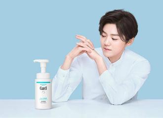 [分享]210226 珂润发布代言人鹿晗相关物料 敏感春季一起呵护肌肤